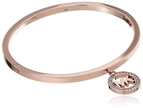 Michael Kors Rose Gold Jewelry Hinged Bangle Bracelet
