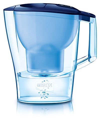 Brita Aluna Frosted Water Filter Jug - Cool Blue