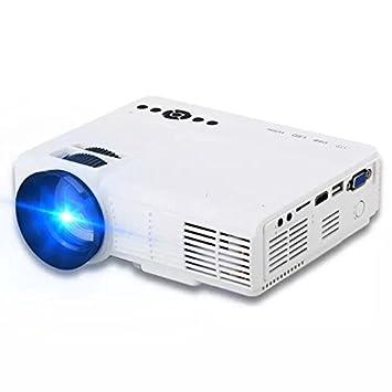 QAIYXM Proyector LED 720P Full-HD Mini proyector 800 * 600 ...