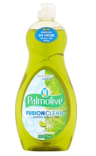 Palmolive Fusion Clean Residue-Free with Baking Soda & Lime Ultra Concentrated Dish Detergent Removes 24hr Stuck-on Food ( 2 - 10oz )