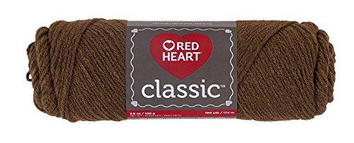 RED HEART Classic Yarn, Mid (Heart Classic Knitting Yarn)