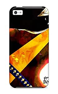 2083542K76135040 Tpu Case Cover For Iphone 5c Strong Protect Case - Bleach Design