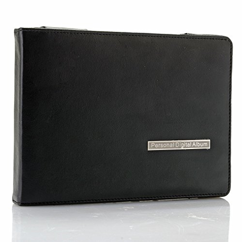 7' Digital Professional Photo Album with Leather case: Display Photos, Videos, Music and Text. Photo Capacity More Than 10X Regular Albums
