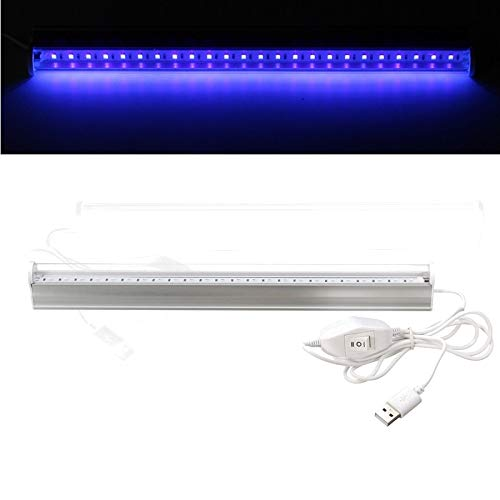JohnnyBui - Big 6W USB Portable UV LED Blacklight Ultraviolet UV Lamp Lights Tube DC5V Fixtures Lamp for Bar Party Club DJ UV Art