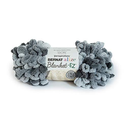 Bernat 16103737024 Alize Blanket-EZ Yarn Slate Grays