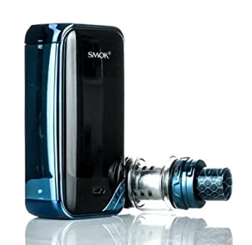 Smok X-Priv X Priv - Vapeador 225 W TC TFV12, 8 ml, depósito Prince, kit completo, sin nicotina, con compartimento Unishow