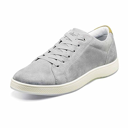 Florsheim Herenkant Van Veters Tot Teen Oxford Grijs Nubuck