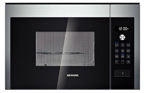 Siemens HF15G564 - Microondas (Integrado, 20 L, 800 W, Tocar, Negro, Acero inoxidable, 1000 W)