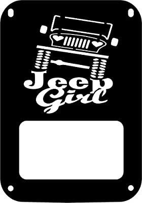 JeepTails Extreme Jeep Girl - Jeep JK Wrangler Tail Lamp Covers - Set of 2