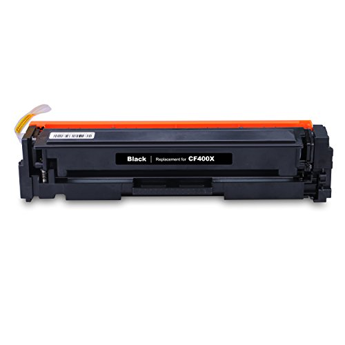 LEMERO Replacement for CF400X CF401X CF402X CF403X Toner Cartridge (201X) for use with Color LaserJet Pro MFP M277dw, M252dw, MFP M277n, M252n, High Yield 4 Pack Photo #2