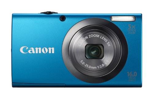 Canon PowerShot A2300 16.0 MP Digital Camera with 5x Opti...