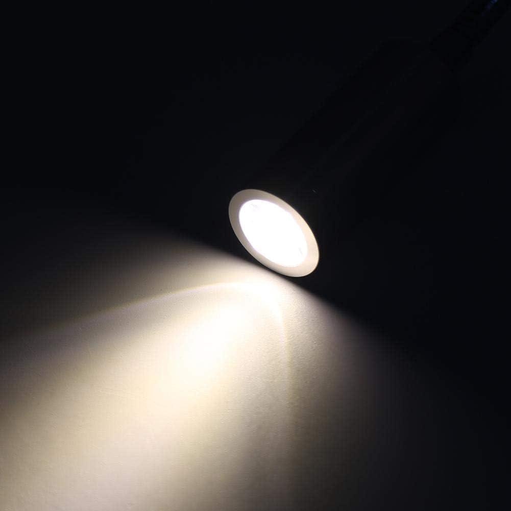 1W Warmwei/ß Tnfeeon LED Bett lesen Arbeitslicht Lampe minimalistischen Dimmbar Touch Switch Kopfteil Wand Licht mit flexiblen Schwanenhals f/ür Kopfteile Home B/üro Hotels