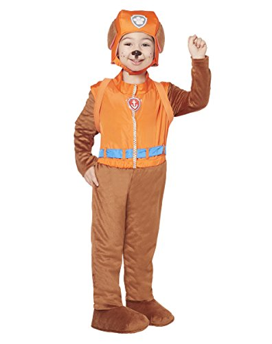 (PAW Patrol Costume for Toddlers - Zuma | Officially Licensed Brown,)