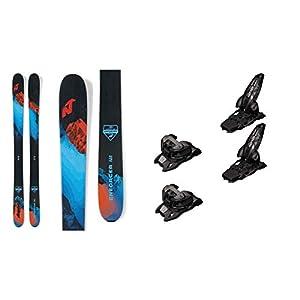 2021 Nordica Enforcer 110 Free 185cm Skis & 2020 Marker Griffon 13 ID Anthracite 110mm Brake Ski Bindings