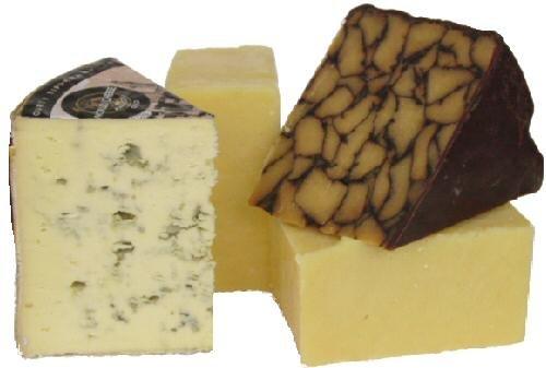 Handful of Irish Cheese by Gourmet-Food