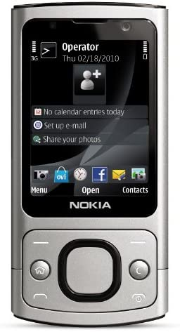 Nokia 6700 Slide Unlocked Phone Us Version With Full Warranty Silver Amazon Ca Cell Phones Accessories