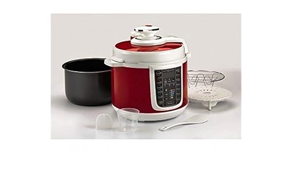 Quick Saveurs - Robot de cocina, cocción lenta, olla, yogurtera, olla de arroz 1000 W, 14 programas, similar a Flavormaster: Amazon.es: Hogar
