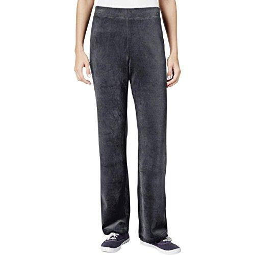 Stretch Velour Pants - 7