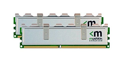 Mushkin 996756 DDR2 UDIMM (2x2GB) 4GB PC2-5300 5-5-5-15 STILETTO 1.8V