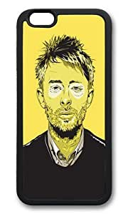 Apple Iphone 6 Case,WENJORS Awesome Thom Yorke Soft Case Protective Shell Cell Phone Cover For Apple Iphone 6 (4.7 Inch) - TPU Black