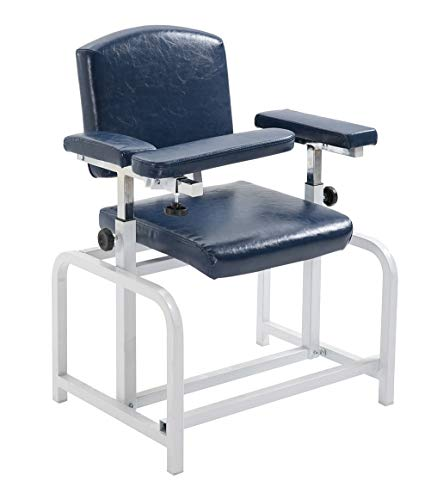 (Carenovo Economical Phlebotomy Donor Chairs for Blood Pressure Chair with Adjustable armrest)