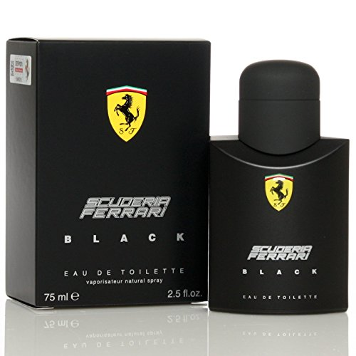 Ferrari Scuderia Black Eau De Toilette, 2.5 Ounce - Ferrari Black In