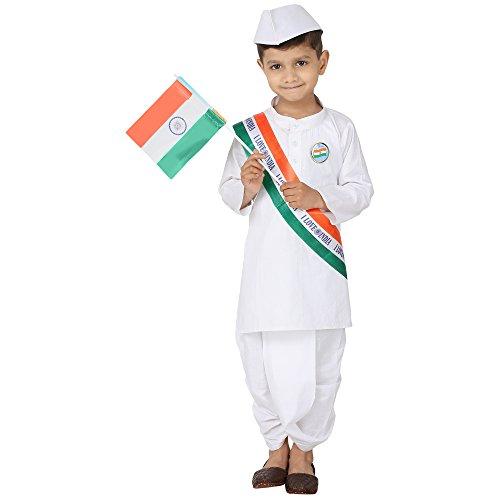 Kurta Dhoti (FOCIL Festival Season Special White Dhoti Kurta for Kids (Pack of 5))