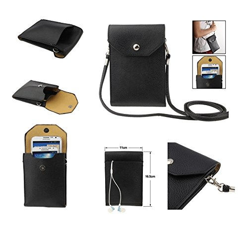DFV mobile - Funda Tablet y Smartphone Piel Sintetica Bolso con Correa y Cierre por Clip Iman para => APPLE IPHONE 8 [4,7