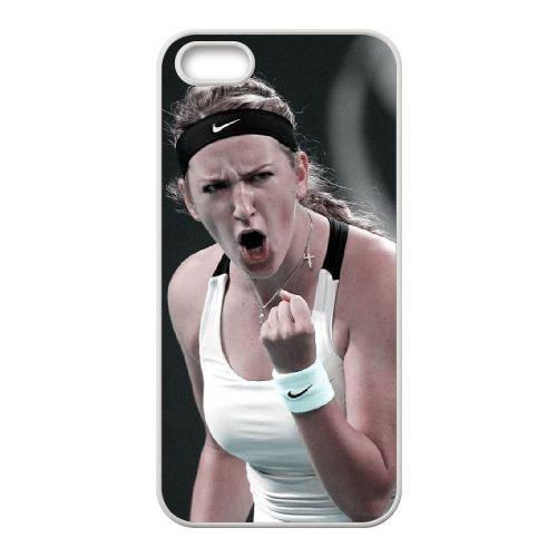 Victoria Azarenka coque iPhone 4 4S cellulaire cas coque de téléphone cas blanche couverture de téléphone portable EOKXLLNCD20627