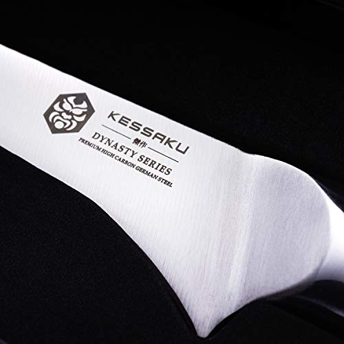 Kessaku Boning Knife - Dynasty Series - German HC Steel, G10 Full Tang Handle, 6-Inch