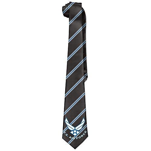 MDSHOP Men's The US Air Force USAF Logo Necktie Skinny Ties / New Novelty Necktie