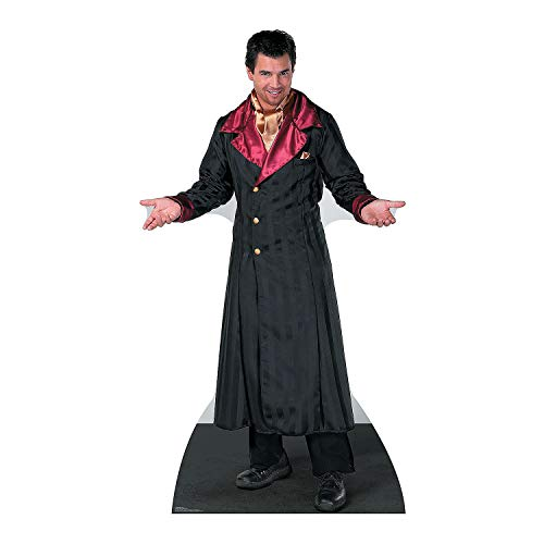 Vampire Cardboard Stand - Fun Express - Vampire Coat - Party Decor - Large Decor - Floor Stand Ups - 1 Piece