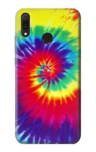 R2884 Tie Dye Swirl Color Case Cover for Huawei Y9 (2019)