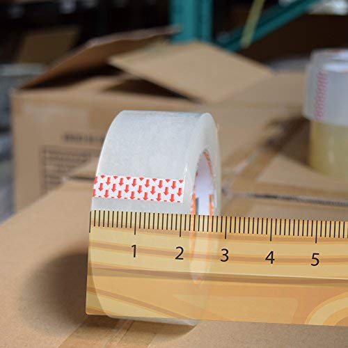 Tape King Clear Packing Tape - XL 110 Yards per Roll (36 Rolls) - 1.88 inch Wide Stronger & Thicker 2.7mil, Heavy Duty Adhesive Industrial Depot Tape for Moving Packaging Shipping and Commercial by Tape King (Image #3)