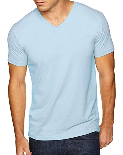 Next-Level-mens-Premium-Fitted-Sueded-V-Neck-Tee-6440