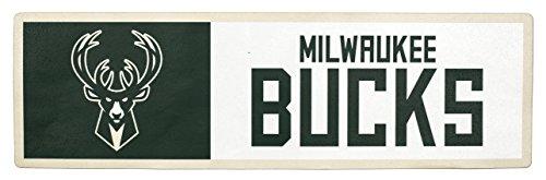 Applied Icon NBA Milwaukee Bucks Outdoor Step Graphic Decal