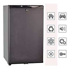 Smad 12V/110V Portable Single Door Mini Fridge With Lock,1.7 cu ftProduct Description -Gross capacity:1.4 cu ft  -Inner Body Material:PS -Outer Body Material:PCM(0.5mm) -Interior light:Yes, LED Temperature range :3~12 ℃(37.4~53.6℉)-Certificat...