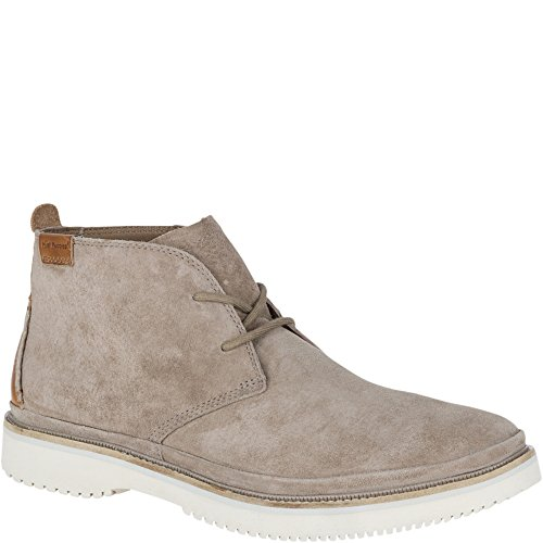 Hush Puppies Mens Fredd Bernard Light Grey Suede Boot - 10 M]()