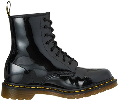 Dr. Martens Mujeres 1460 8-eye Charol Botas, Black Patent Lamper, 5 F (m) Uk / 7 B (m) Us Mujeres / 6 D (m) Us Hombres