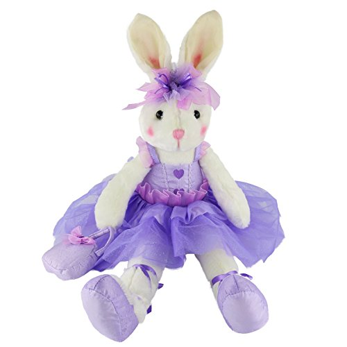 WEWILL Ballerina Bunny Stuffed Animal Original Adorable Soft