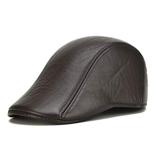 e B GLLH de Pico Cuero para Pato otoño de de Hombres A qin Invierno de Sombrero Delantero Sombreros Sombrero hat Sombrero qqaSn4w1f