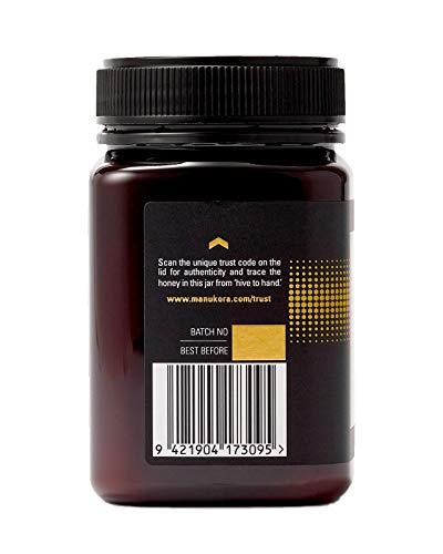 Manukora UMF 15+/MGO 500+ Raw Mānuka Honey (500g/1.1lb) Authentic Non-GMO New Zealand Honey, UMF & MGO Certified, Traceable from Hive to Hand by Manukora (Image #4)
