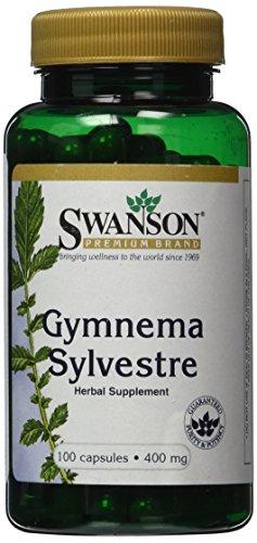 Swanson Premium Gymnema Sylvestre 400mg -- 100 Capsules