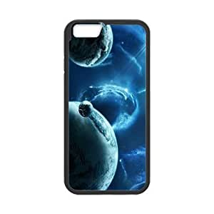 iPhone 6 Plus 5.5 Inch Cell Phone Case Black Galaxy Space Phone Case For Guys Generic XPDSUNTR03087