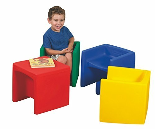 Cube Chair (Set of 4) by Constructive Playthings