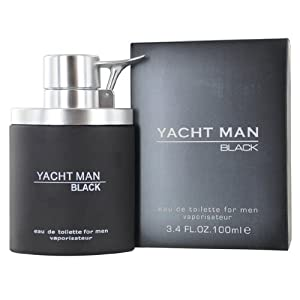 Yacht Man Black Cologne For Men by Myrurgia