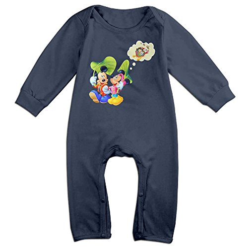 Linus Van Pelt Halloween Costume (VanillaBubble Mickey Mouse And Christmas For 6-24 Months Newborn Funnies Romper Navy Size 6 M)