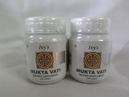 Mukta Vati 120 Herbal Tablet, 2pack of 120tab Each. For Sale