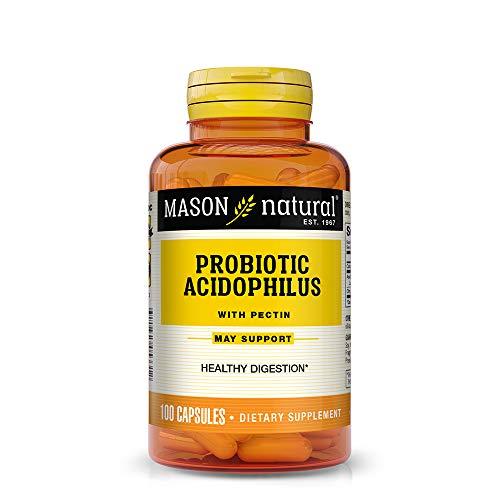 Natural Acidophilus Dietary Supplement Capsules - 1