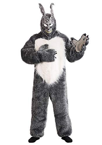 Adult Donnie Darko Rabbit Costume Donnie Darko Frank Bunny Costume for Adults X-Large Gray